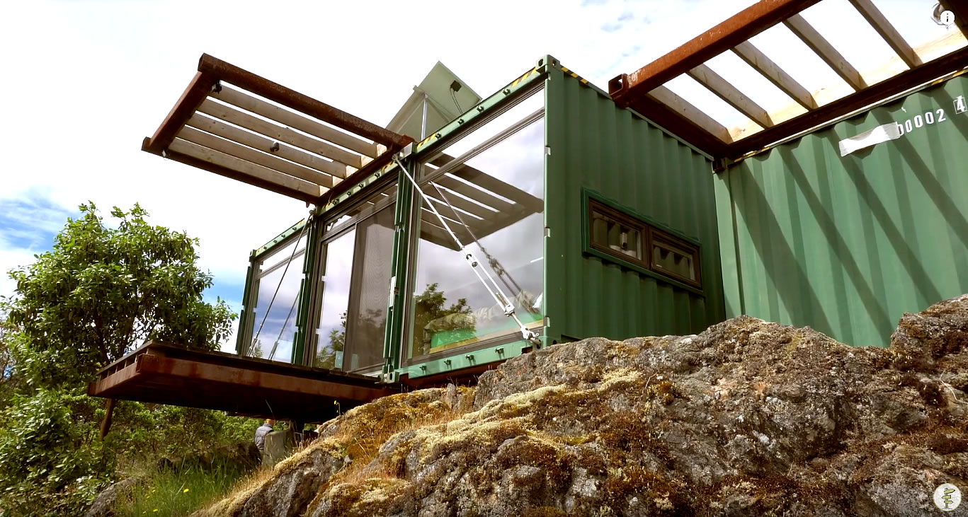 HoneyBox Shipping Container House Tour