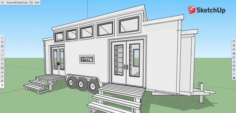 Getting Started With Sketchup Free Tiny House Design