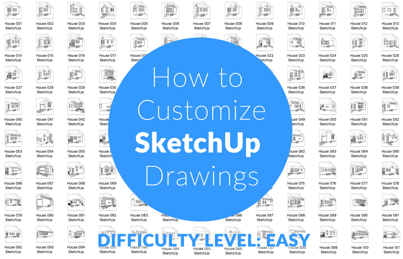 How to Customize an Existing Tiny House SketchUp Drawings