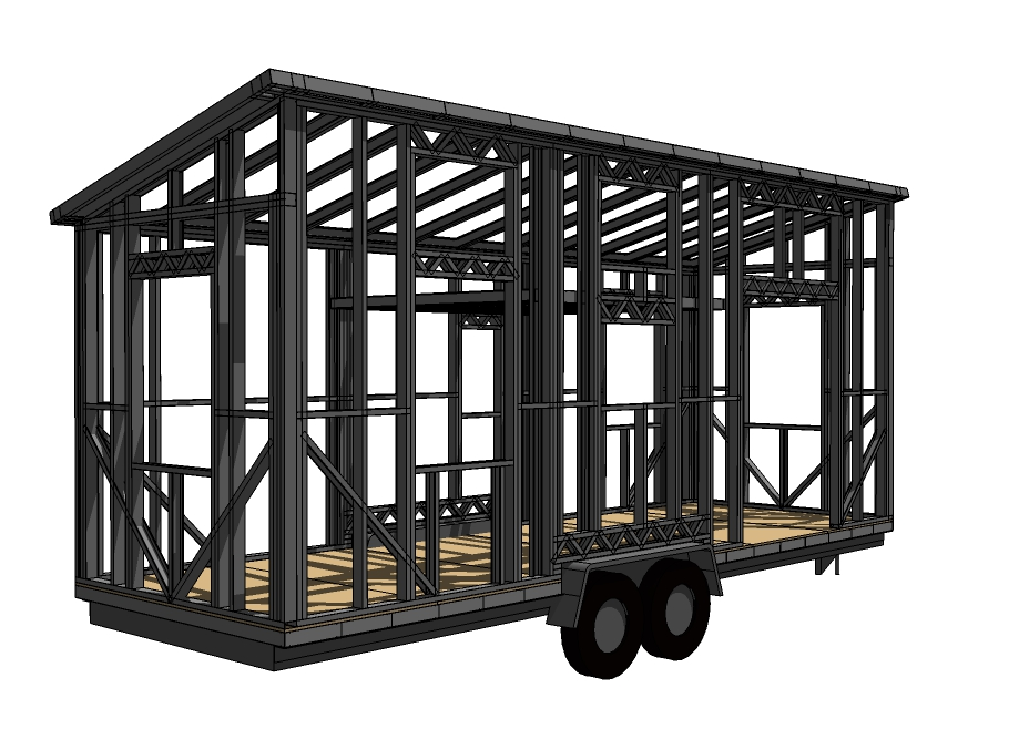 Steel Framed Tiny House Kits now Available