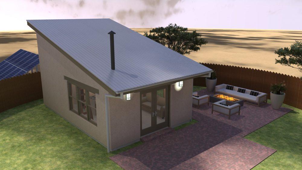 Design Concepts · Taos Mesa Day Dream #3 U2013 Micro Adobe Home