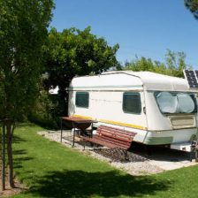 Can I live in an RV on my own property?